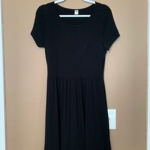 A super cute little black dress from Old Navy!